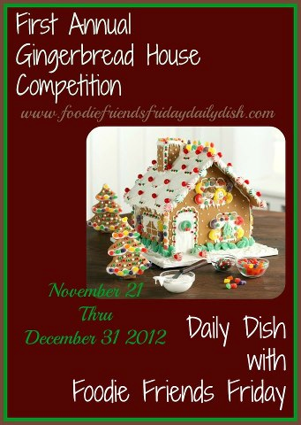daily dish gingerbread house competition