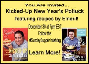 Sunday Supper New Years Eve Potluck Emeril Style