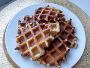 waffles finished