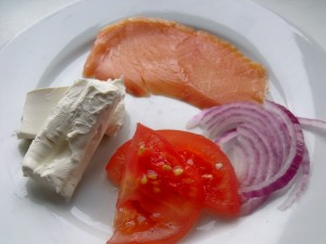 lox omelet ingredients