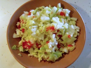 pepper cabbage