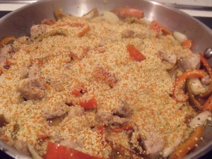 add couscous