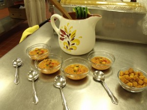 Corn Gazpacho at the Cook-Off