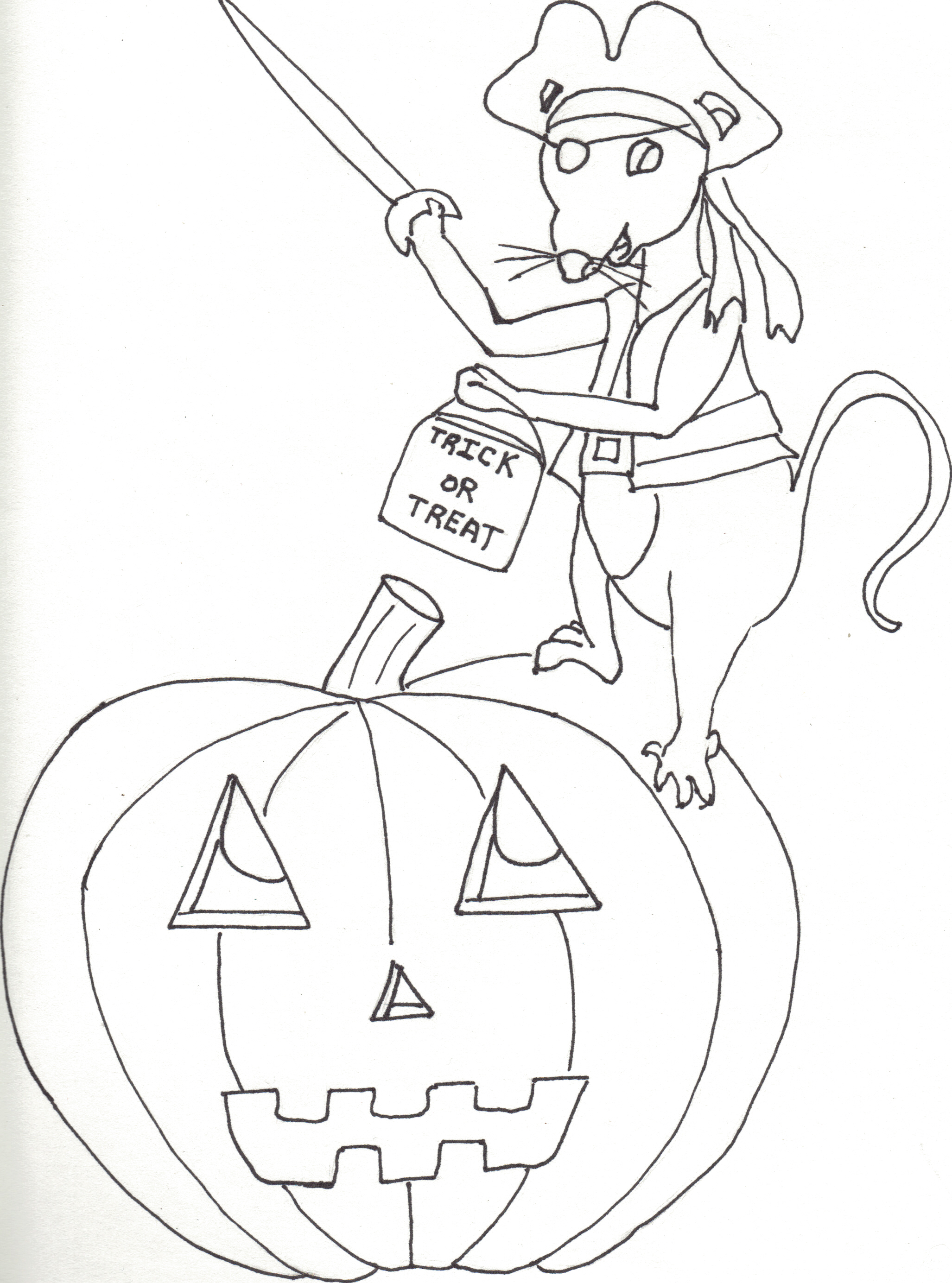 Free Halloween Color Book Trickortreat Cindy S Recipes And Writings