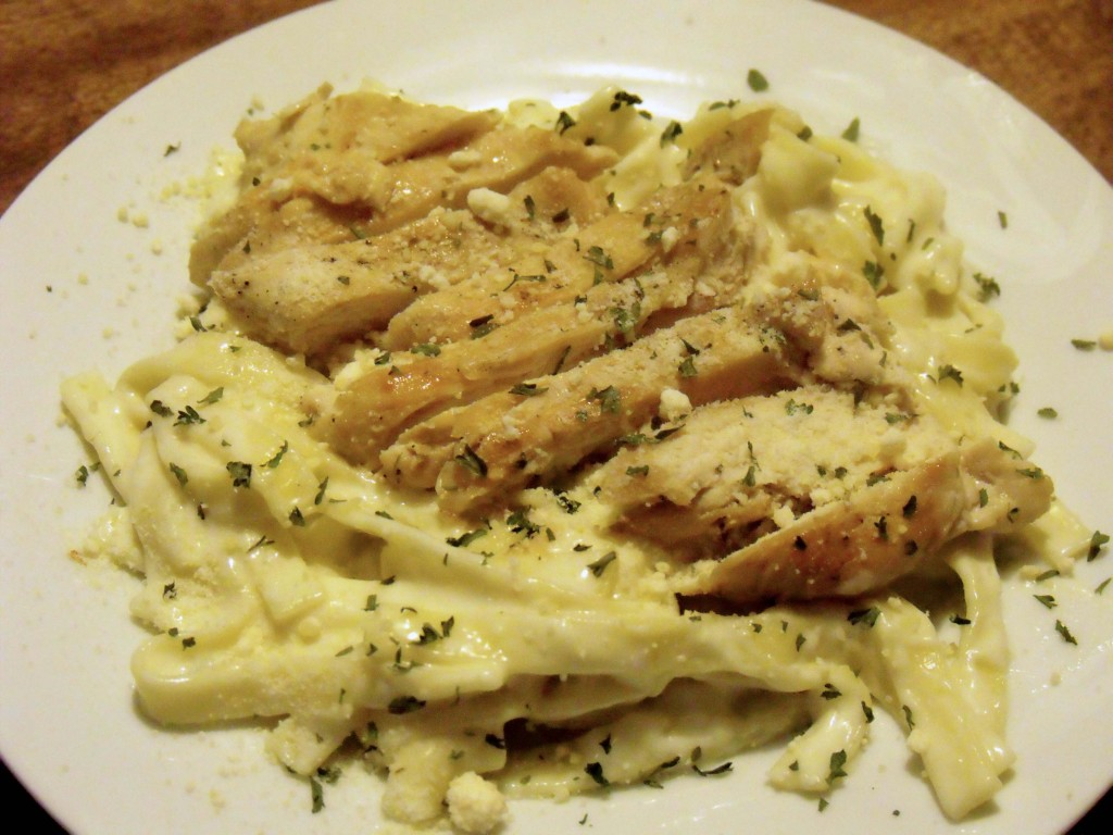 Creamy Alfredo with Chicken