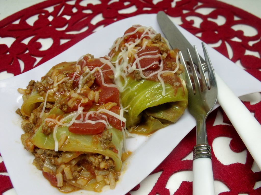pigs in a blanket (cabbage rolls)