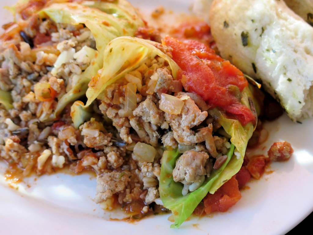 Cabbage Rolls Pigs in a Blanket