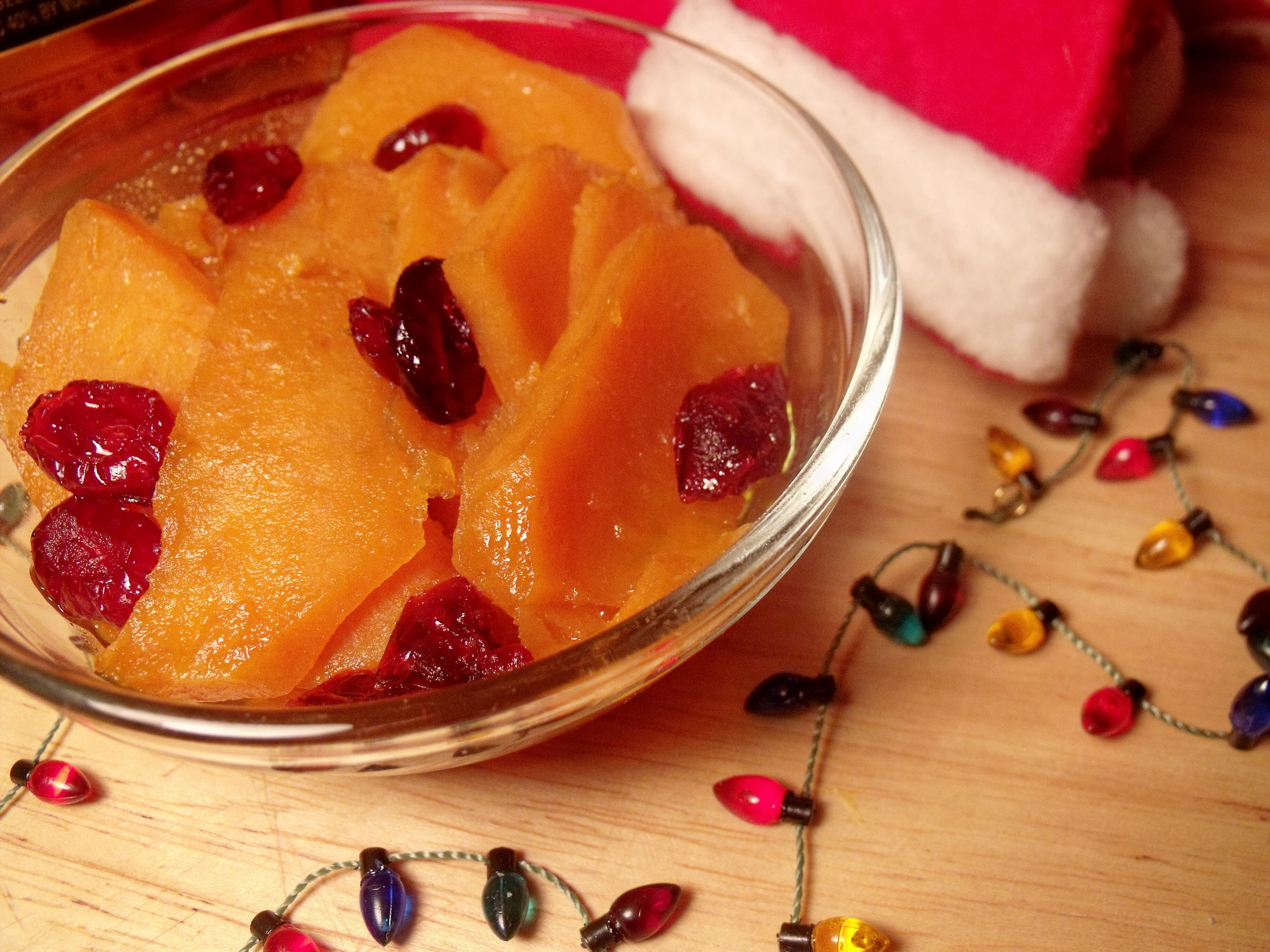 Brandied Candied Sweet Potatoes for #SundaySupper