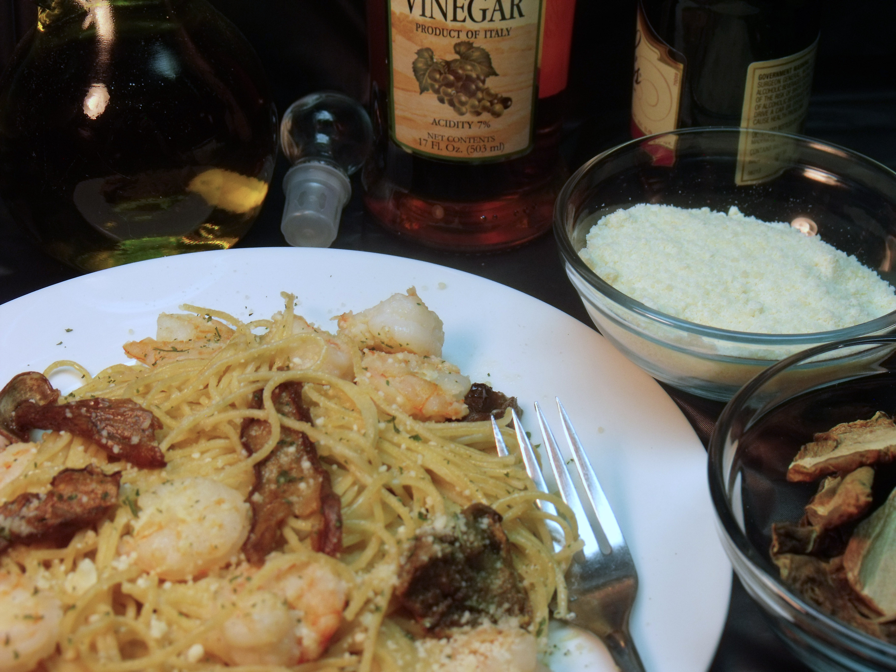 Champagne Shrimp and Pasta for #SundaySupper