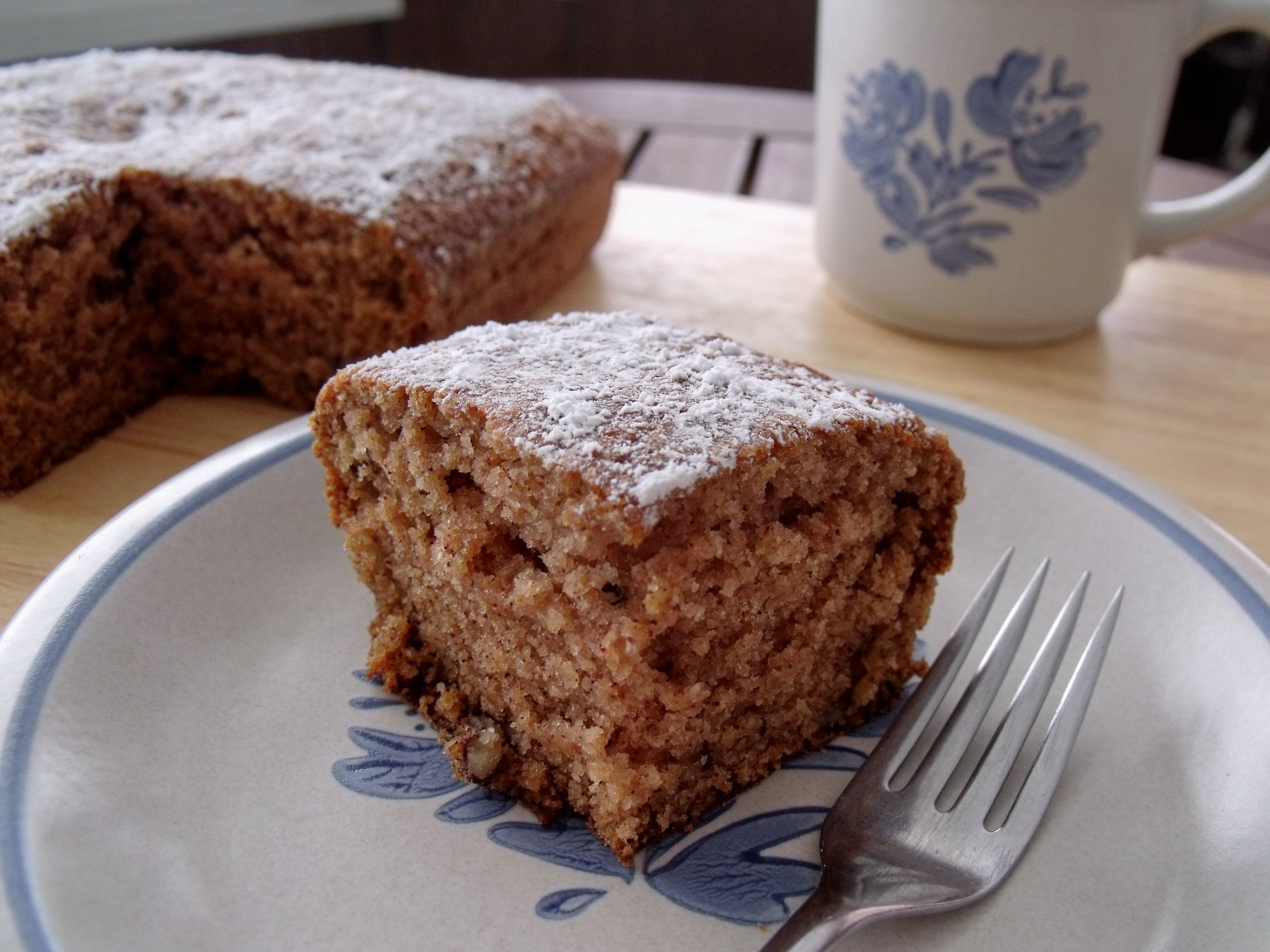 Applesauce Pecan Spice Cake - Cindy's Recipes and Writings