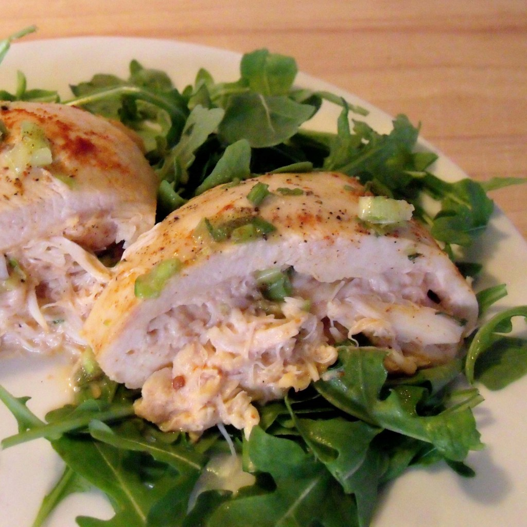 Chicken Stuffed Crab Louie