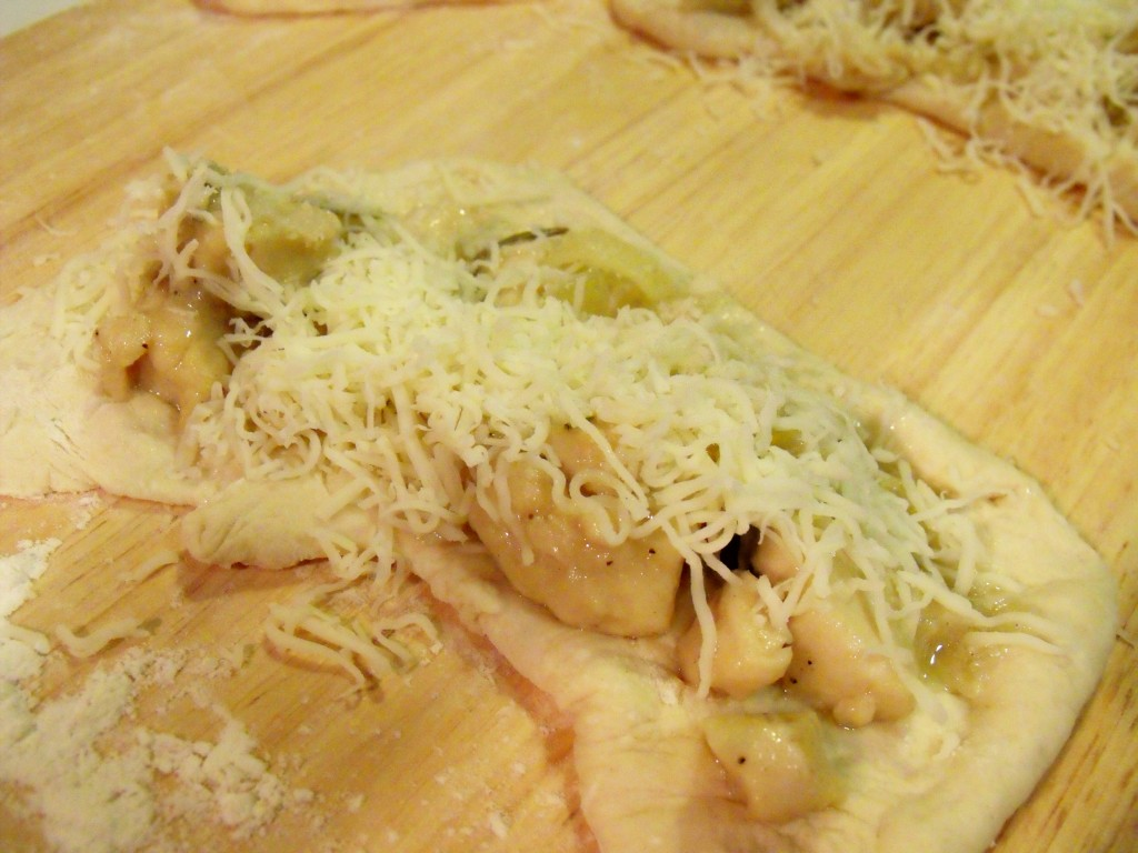 garlic chicken filling