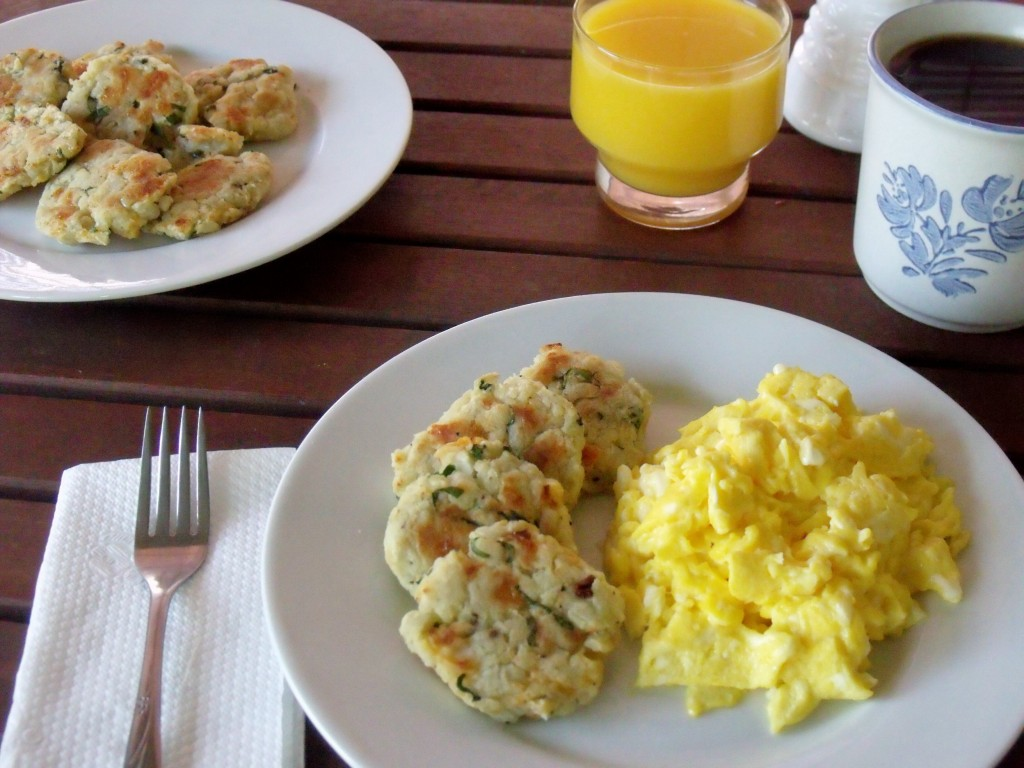 Cheesy Spinach Breakfast Potato breakfast
