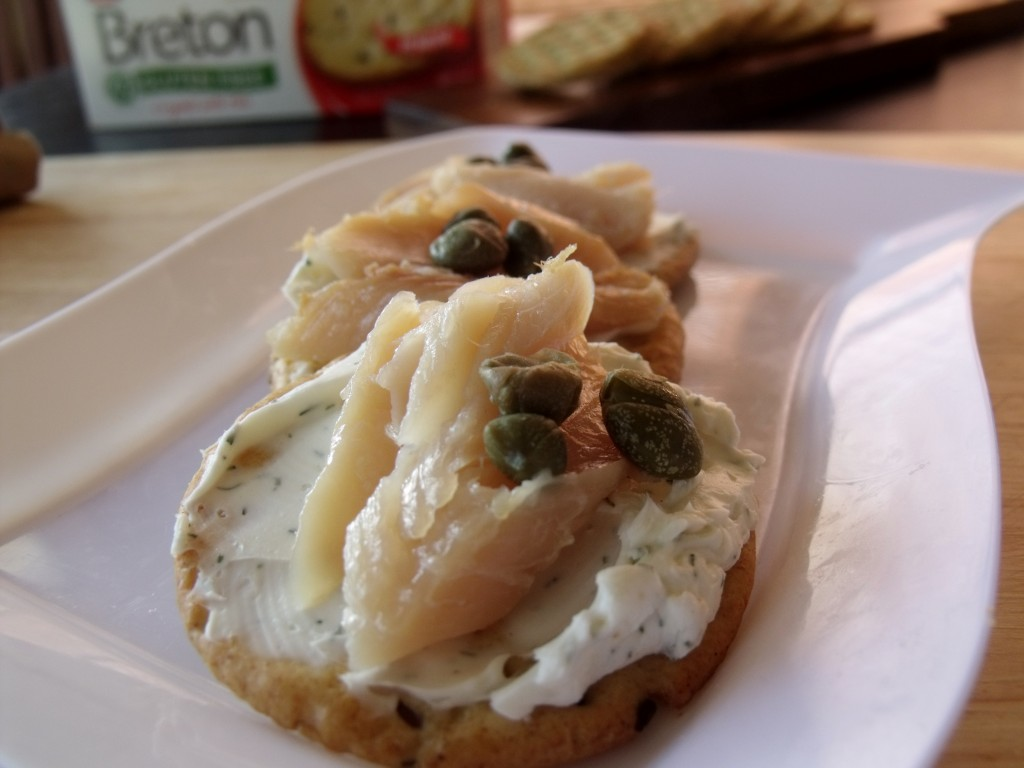 Smoked Trout Canopies #Gluten Free