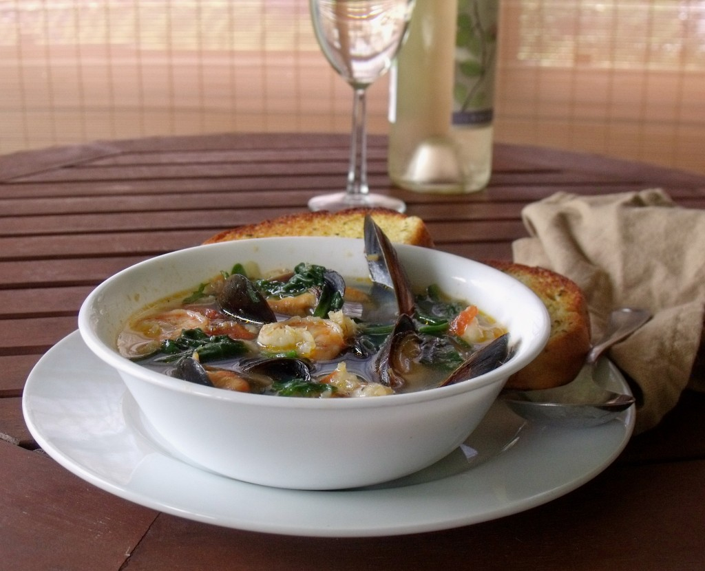 Seafood Stew - Cindy's Recipes and Writings