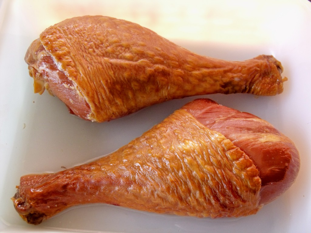 smoked turkey drumsticks