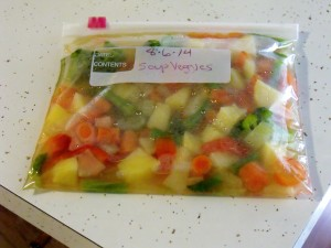 freezer harvest soup kit bag