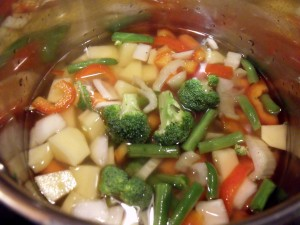 freezer harvest soup cook