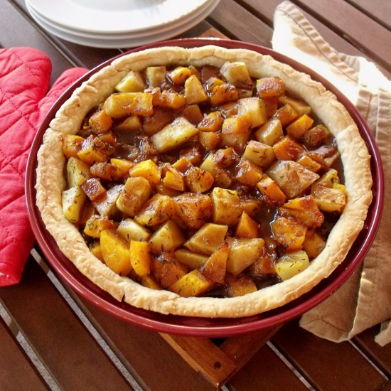 Beef Squash and Potato Pies