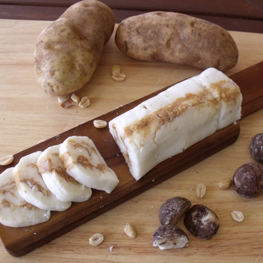 Peanut Butter Potato Candy