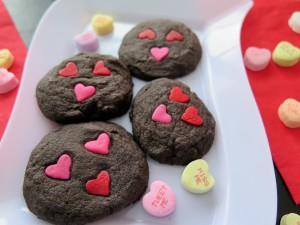 Chocolate Valentine Sandies Faces