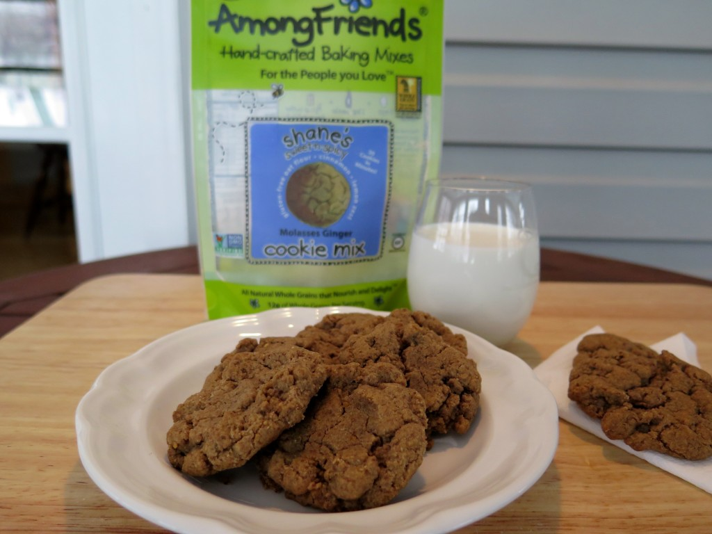 Among Friends cookie plate