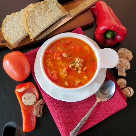 Healthy Stuffed Pepper Soup Bowl (550x550)