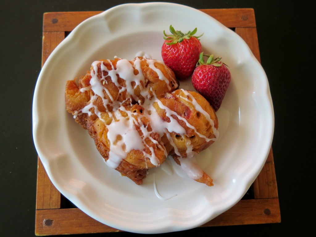 Strawberry Fritter