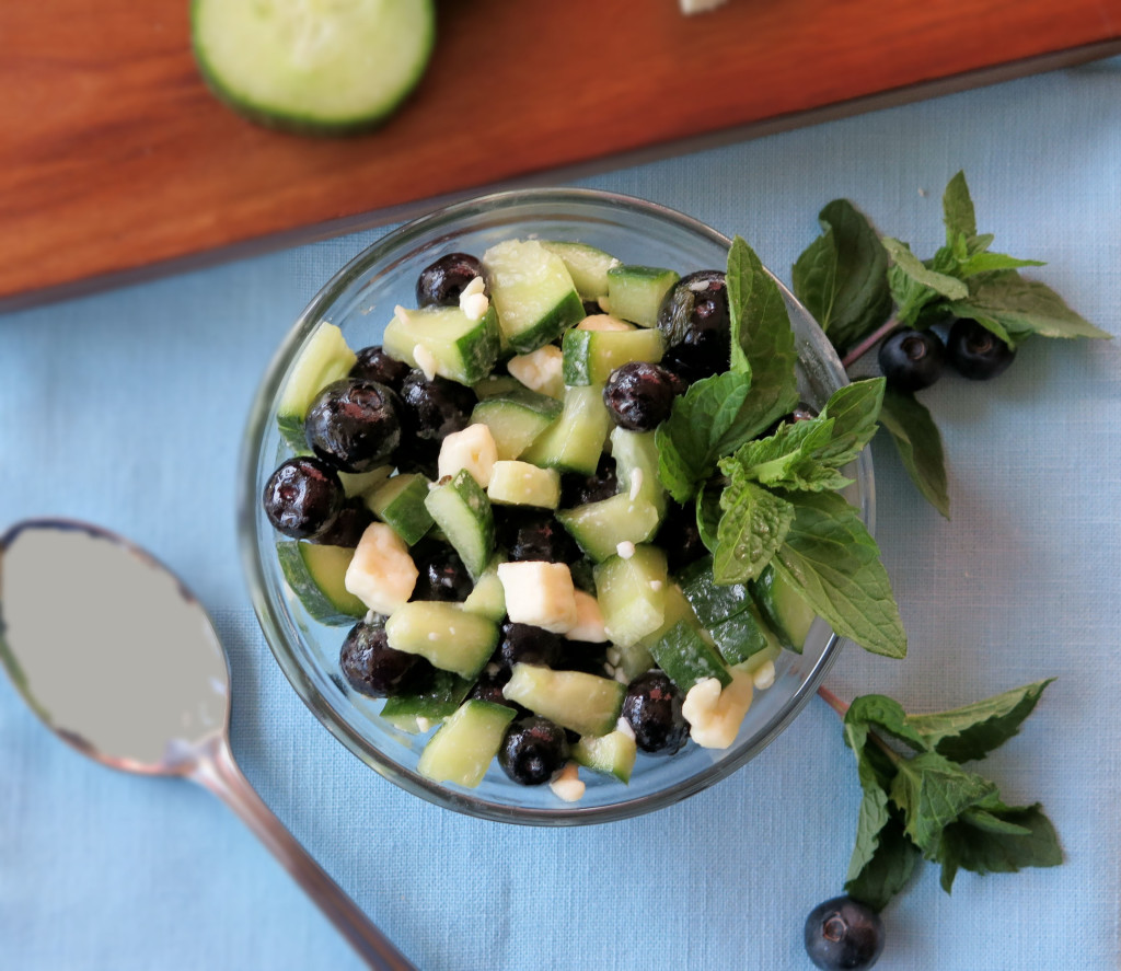 Blueberry Feta Cucumber Salad_