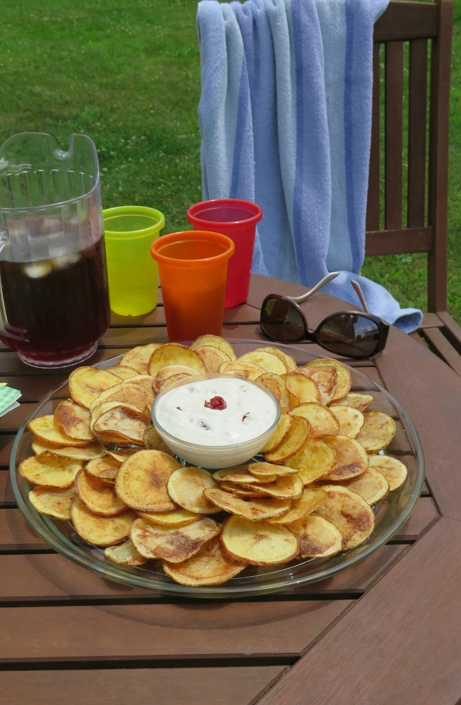 Sunflower Chip and Dip Plate