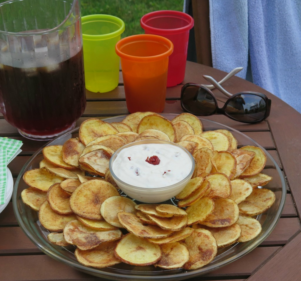 Sunflower Chip and Dip set