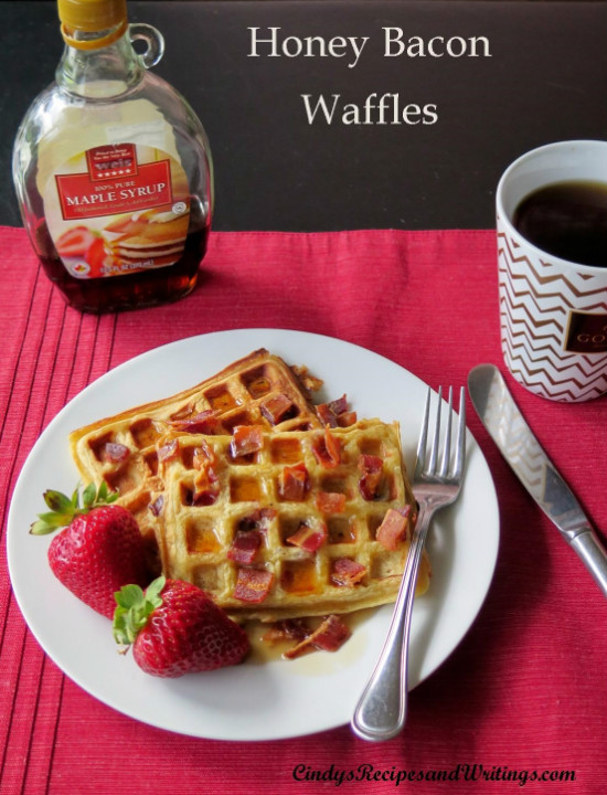 Honey Bacon Waffles