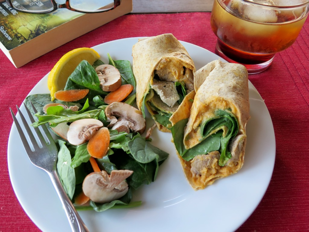 Pork and Sweet Potato Wraps #MissionInfluencer