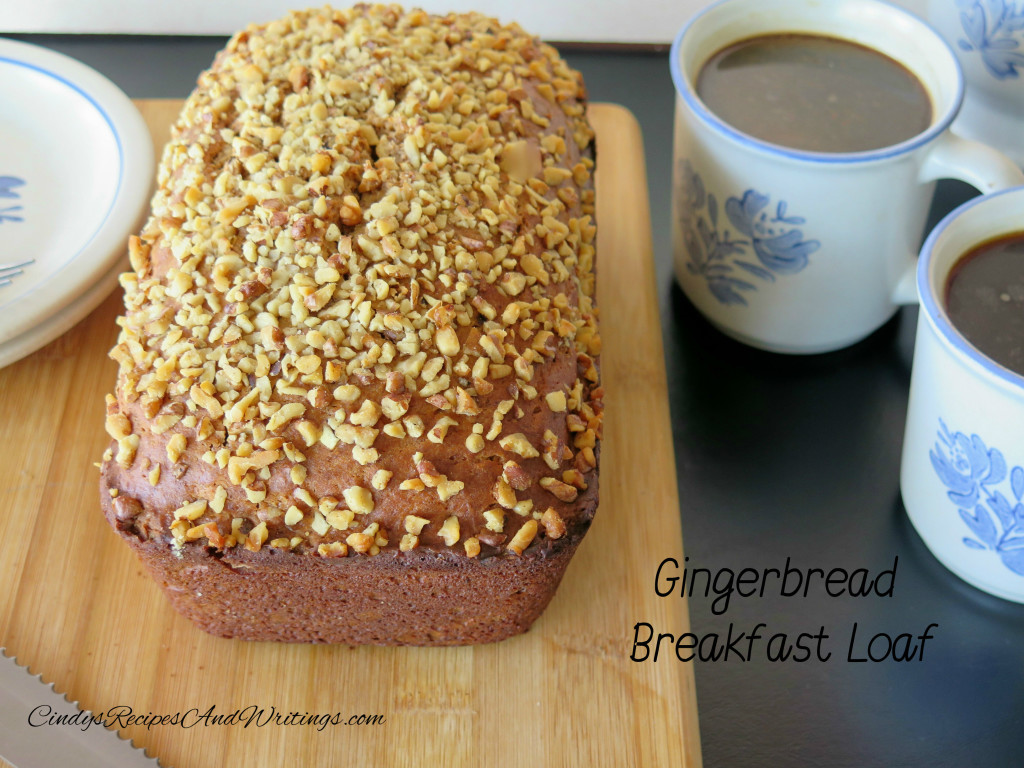 Gingerbread Breakfast loaf table 1