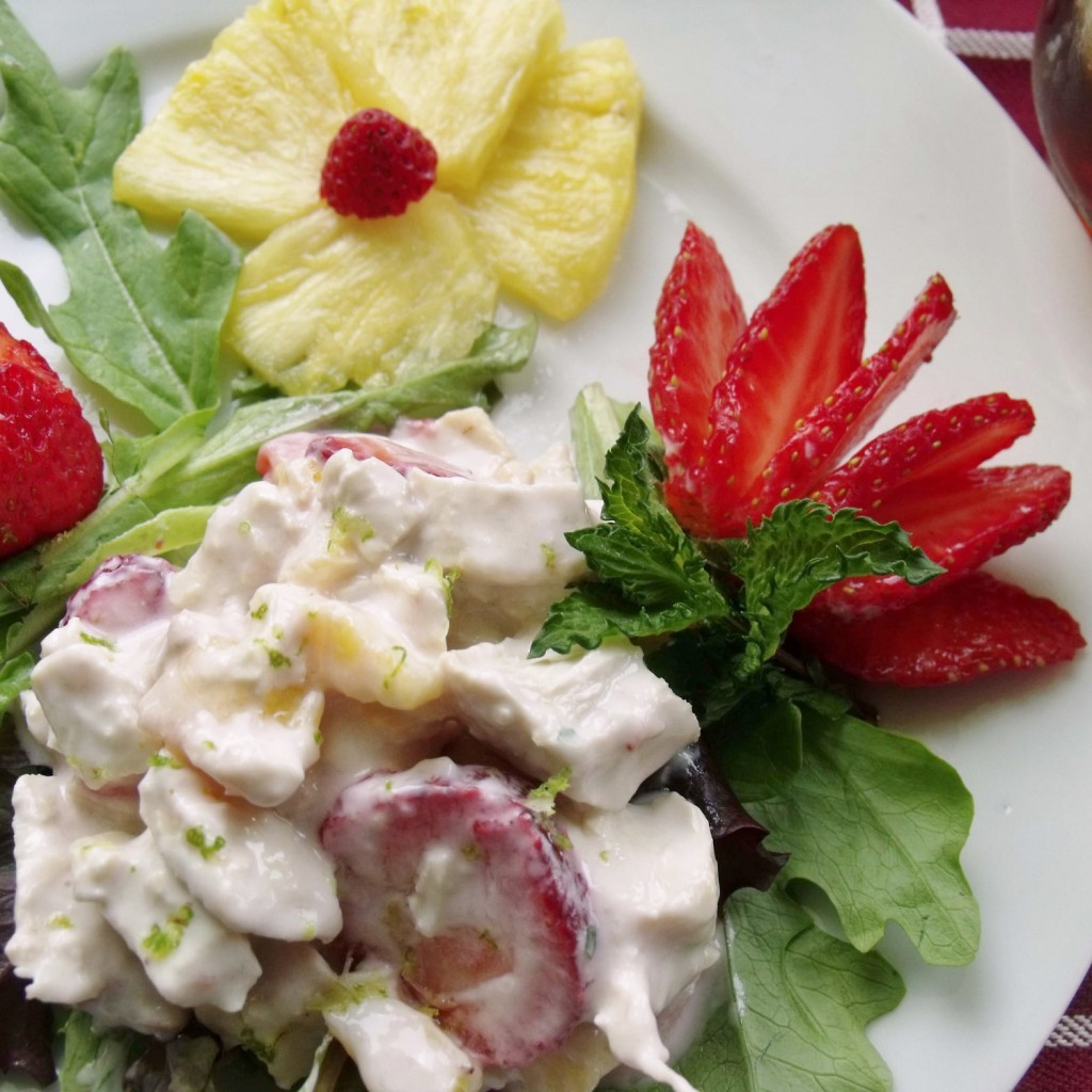 chicken strawberry pineapple salad