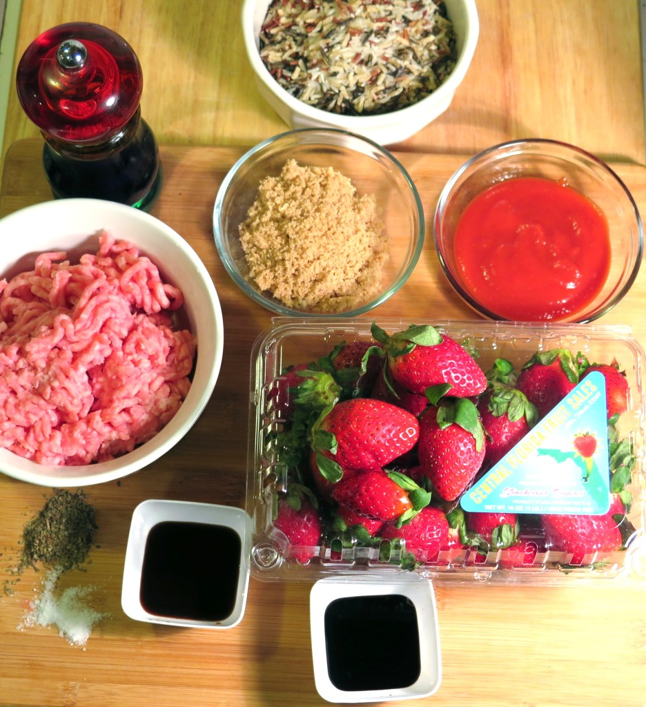 strawberry bbq meatball ingredients