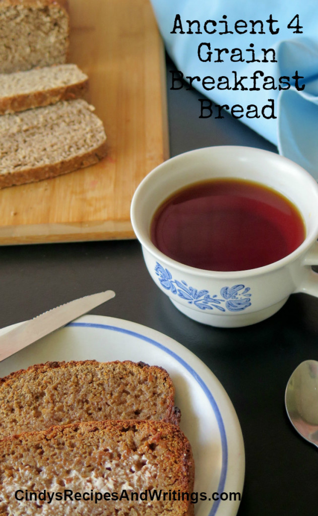 Ancient 4 Grain Breakfast Bread and Loaf 3