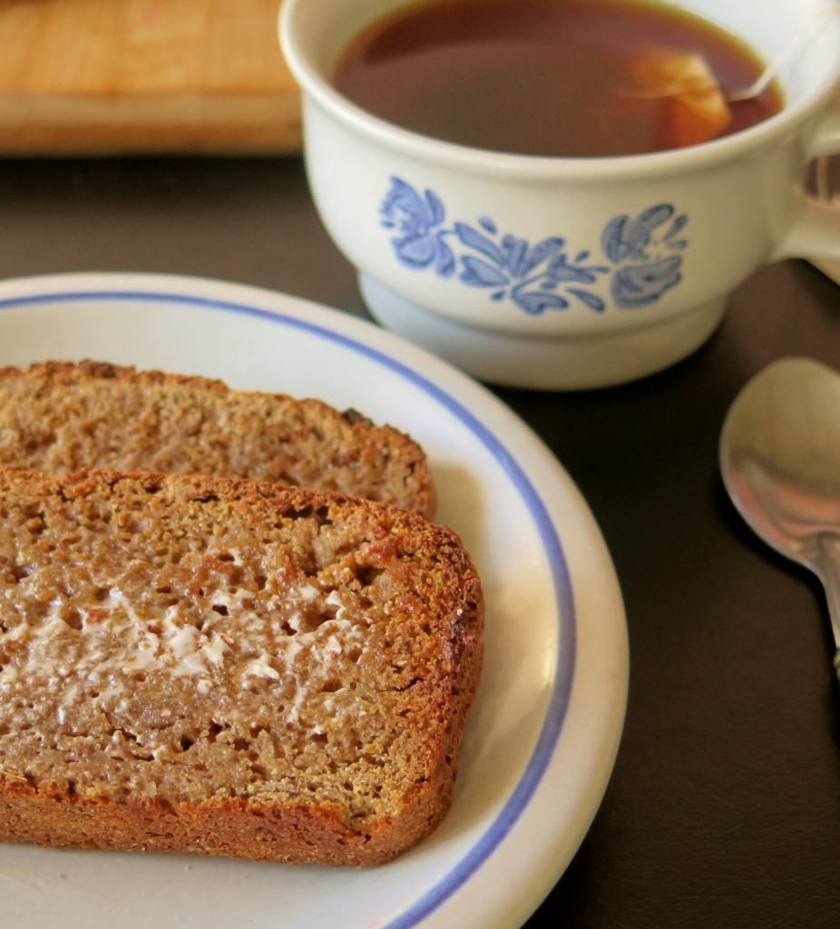 Ancient 4 Grain Breakfast Bread plate