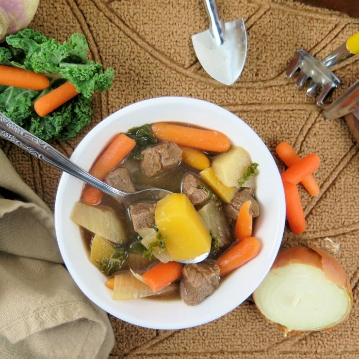 Turnip Rutabaga Root Vegetable Beef Stew