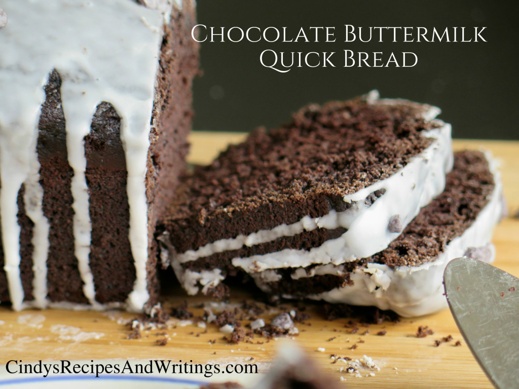 Chocolate Buttermilk Bread sliced