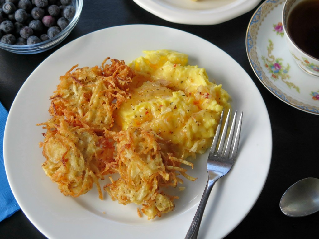 Cheesy Hash Brown breakfast