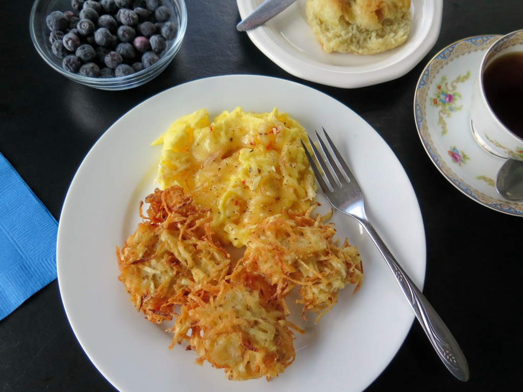 Cheesy Hash Browns set