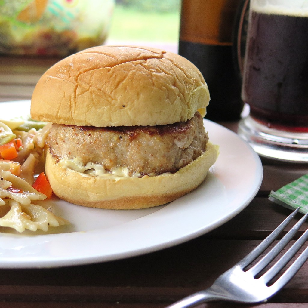 Chicken Cordon Bleu Burger