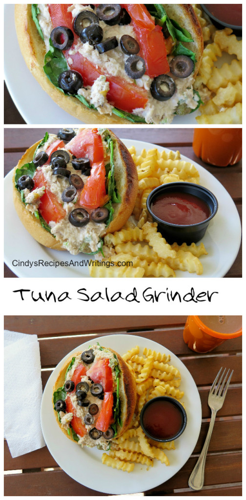 Tuna Salad Grinders |Cindy's Recipes and Writings