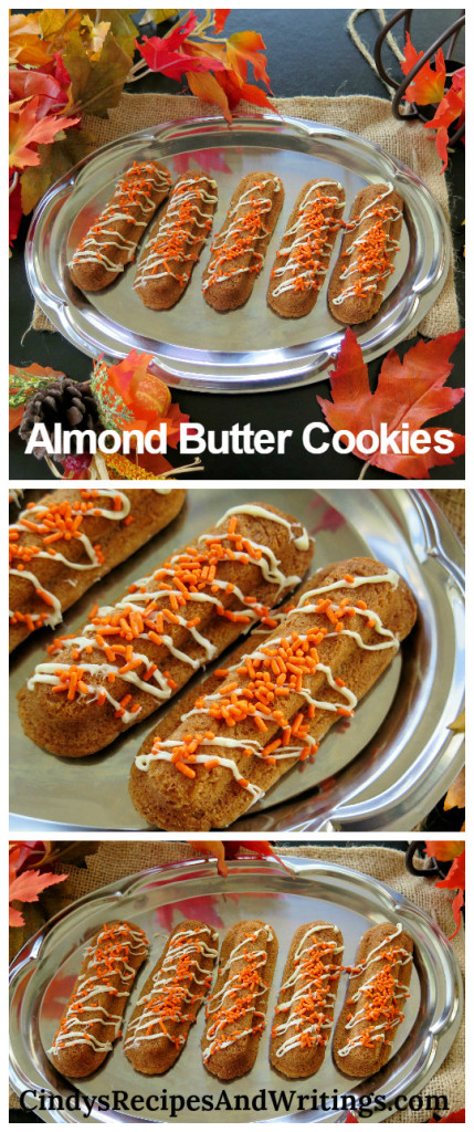 Almond Butter Cookies collage
