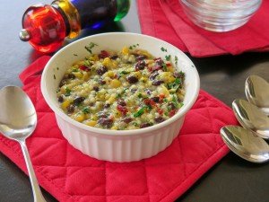 Black Bean Corn Casserole