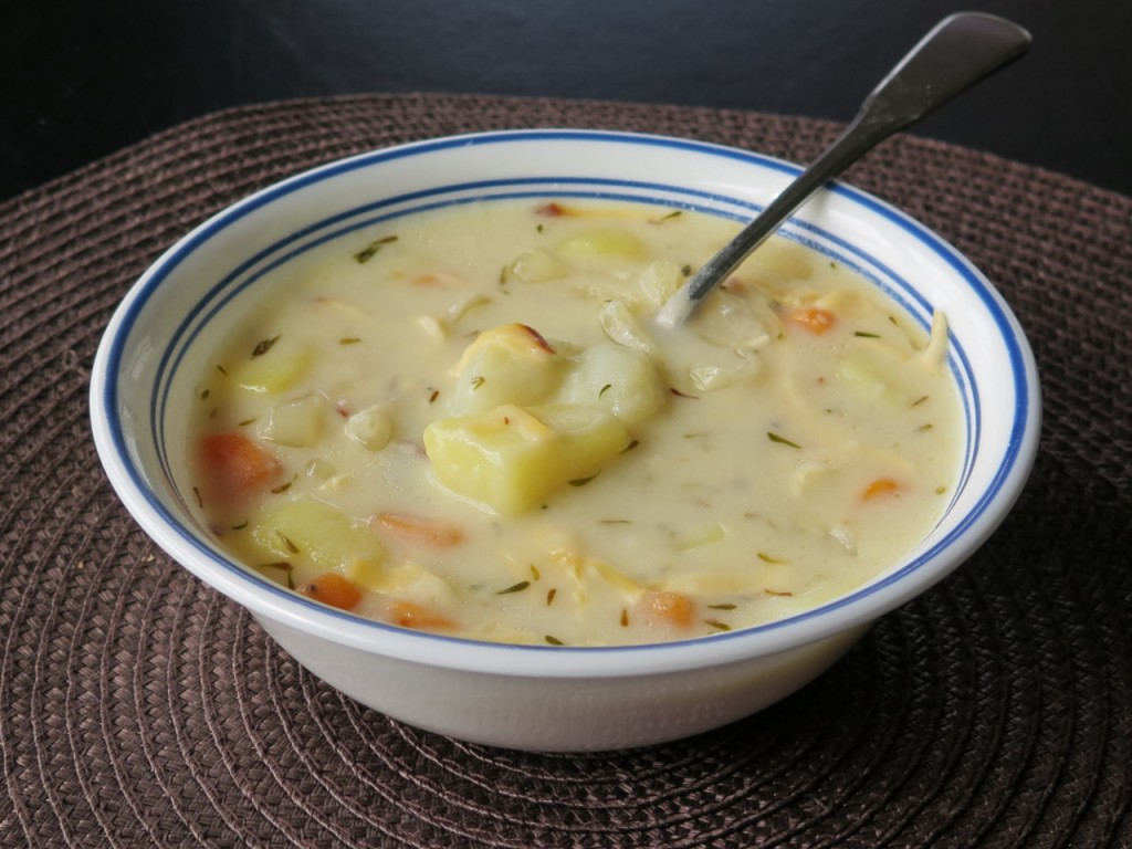 Three Potato Soup