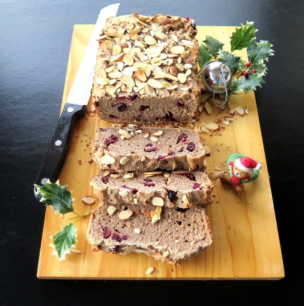 Cranberry Almond Quick Bread
