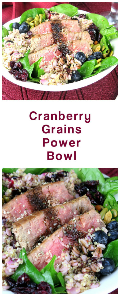 Cranberry Grains Power Bowl