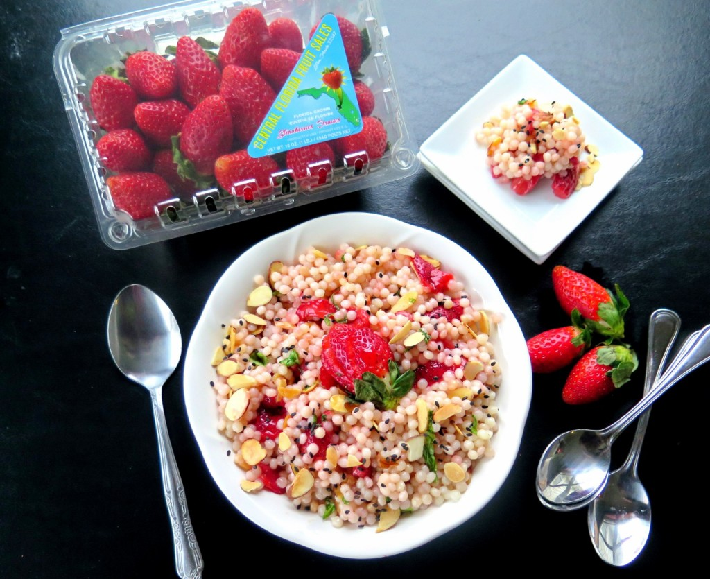 Strawberry Almond Couscous